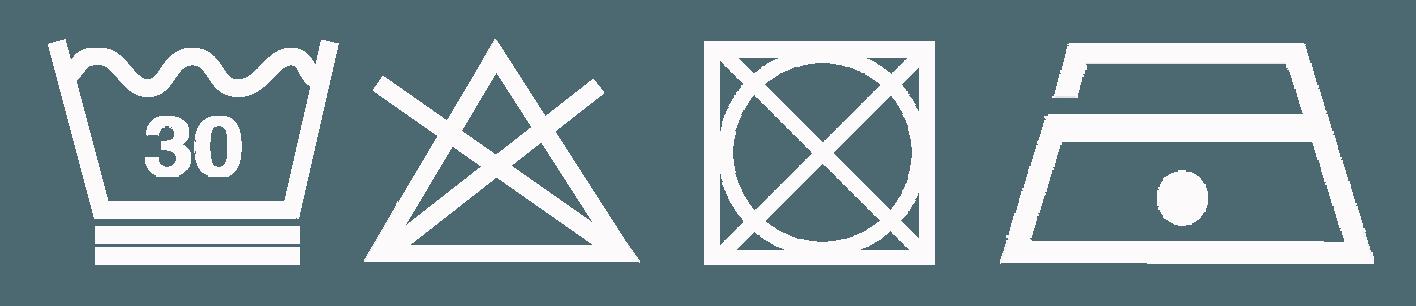 4 symboles vec blancs