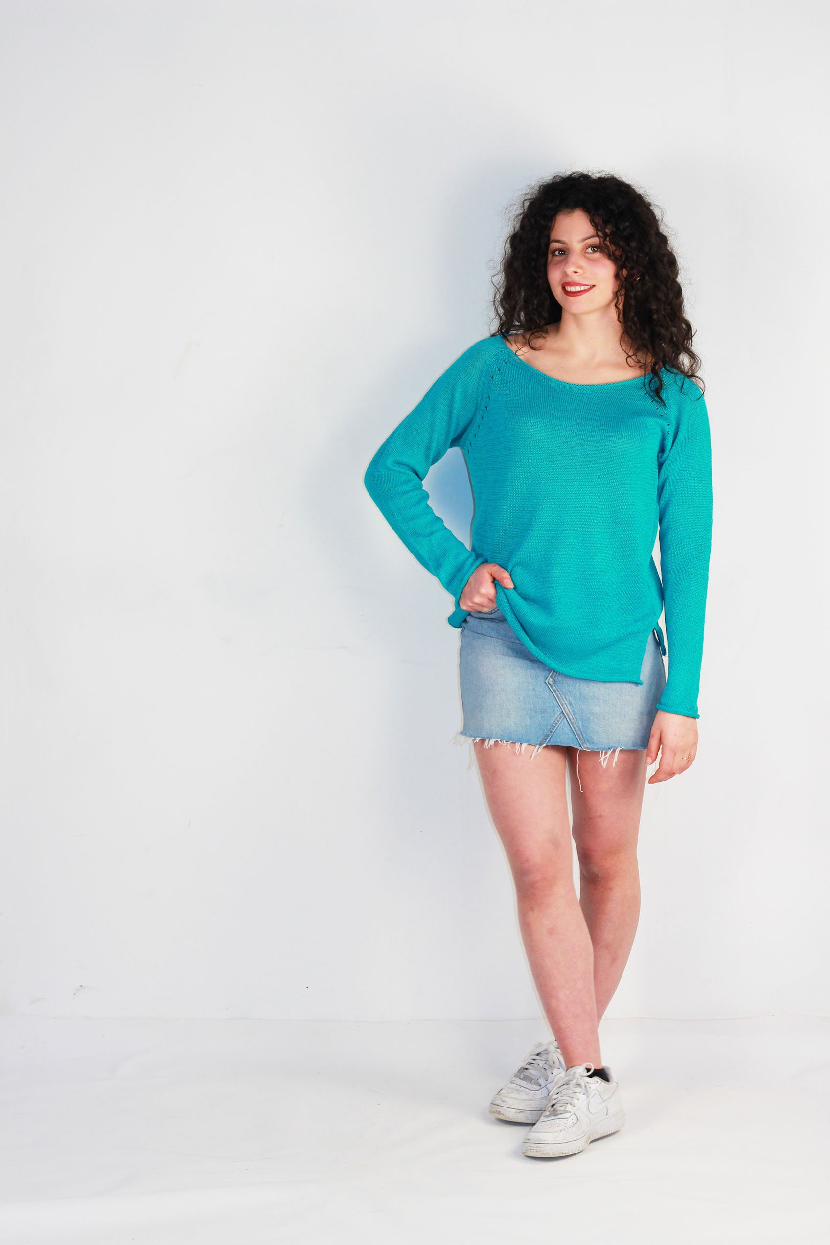 lin turquoise